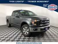 Used, 2016 Ford F-150 XLT, Gray, B11640A-1