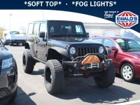 Used, 2016 Jeep Wrangler Unlimited Willys Wheeler, Black, E13736C-1