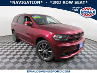 Used, 2017 Dodge Durango GT, Red, P16905-1