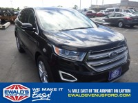 New, 2017 Ford Edge Titanium, Black, A10457-1