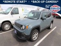 Used, 2017 Jeep Renegade Latitude, Gray, P17173A-1