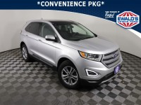 Used, 2018 Ford Edge SEL, Silver, P17147-1