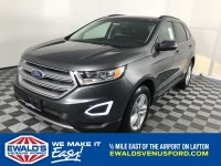 New, 2018 Ford Edge SEL, Gray, B11068-1