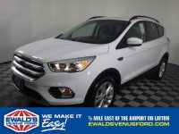 New, 2018 Ford Escape SE, White, B11282-1