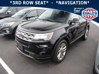 Used, 2018 Ford Explorer XLT, Black, P17223-1