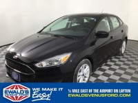 New, 2018 Ford Focus SE, Black, B11128-1