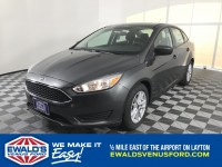 New, 2018 Ford Focus SE, Gray, B11135-1