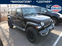 Used, 2018 Jeep Wrangler Unlimited Sahara, Black, E13851A-1