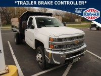 Used, 2019 Chevrolet Silverado 3500HD CC WT, White, D13724A1-1
