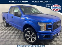 New, 2019 Ford F-150 XL, Blue, C12098-1