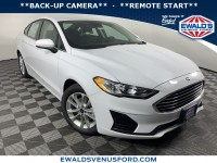 New, 2019 Ford Fusion SE, White, C12243-1