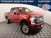 Used, 2019 Ford Super Duty F-250 SRW, Red, SCAD13611A-1