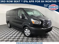 New, 2019 Ford Transit Passenger Wagon XLT, Black, C12763-1
