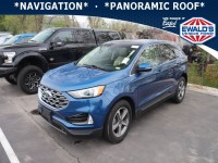 Used, 2020 Ford Edge, Blue, P17256-1