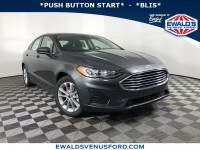New, 2020 Ford Fusion SE, Gray, D12982-1