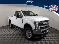 New, 2021 Ford Super Duty F-350 SRW Pickup XL, White, E13640-1