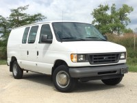 Used, 2003 Ford Econoline Cargo Van, White, GP4506-1