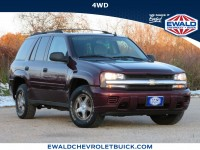 Used, 2006 Chevrolet TrailBlazer LS, Burgundy, 20C144A-1