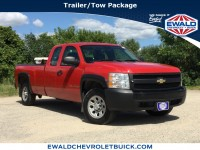 Used, 2007 Chevrolet Silverado 1500 Work Truck, Red, 19CF527A-1