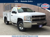 Used, 2007 Chevrolet Silverado 2500HD LT w/1LT, White, GP4277-1