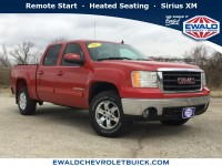 Used, 2007 GMC Sierra 1500 SLT, Red, GP4296A-1