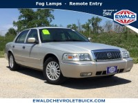 Used, 2007 Mercury Grand Marquis LS, Silver, 19C476B-1
