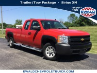 Used, 2008 Chevrolet Silverado 1500 Work Truck, Red, 19CF547A-1