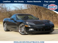 Used, 2009 Chevrolet Corvette w/4LT, Black, GP4538A-1