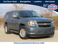 Used, 2009 Chevrolet Tahoe Hybrid 4WD 4dr, Blue, 19C733A-1