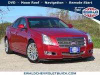 Used, 2010 Cadillac CTS Sedan Premium, Red, 19C942A-1