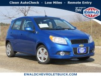 Used, 2010 Chevrolet Aveo LT w/2LT, Blue, GP4665-1