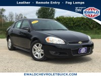 Used, 2010 Chevrolet Impala LT, Black, 19C397B-1