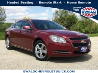 Used, 2010 Chevrolet Malibu LT w/2LT, Red, 19C609A-1