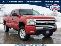 Used, 2010 Chevrolet Silverado 1500 LT, Red, 19C322B-1