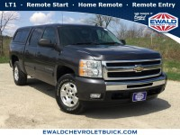 Used, 2010 Chevrolet Silverado 1500 LT, Gray, GP4360A-1