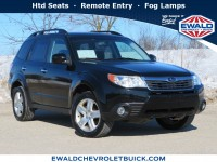 Used, 2010 Subaru Forester 2.5X Limited, Black, 19C835B-1