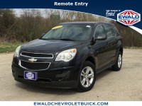 Used, 2011 Chevrolet Equinox LS, Black, GP4369A-1