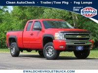 Used, 2011 Chevrolet Silverado 1500 LT, Red, 20C660C-1