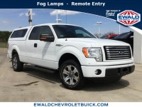 Used, 2011 Ford F-150, White, 19C449A-1