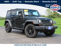 Used, 2011 Jeep Wrangler Unlimited Sport, Green, 18CF1338B-1