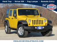 Used, 2011 Jeep Wrangler Unlimited Sport, Yellow, GP4656-1