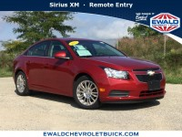 Used, 2012 Chevrolet Cruze ECO, Red, 18C1421A-1