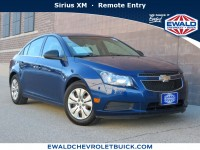 Used, 2012 Chevrolet Cruze LS, Blue, GN4582A-1