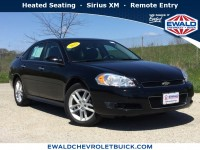 Used, 2012 Chevrolet Impala LTZ, Black, 19C721A-1