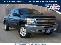 Used, 2012 Chevrolet Silverado 1500 LT, Black, 19C73A-1