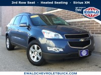 Used, 2012 Chevrolet Traverse LT w/2LT, Blue, 19C543A-1
