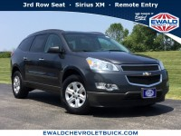 Used, 2012 Chevrolet Traverse LS, Gray, 19C937A-1
