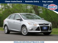 Used, 2012 Ford Focus 4-door Sedan SEL, Silver, GP4674A-1
