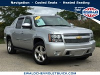 Used, 2013 Chevrolet Avalanche LTZ, Silver, 19C955A-1