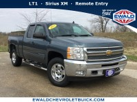 Used, 2013 Chevrolet Silverado 1500 LT, Blue, GP4334A-1
